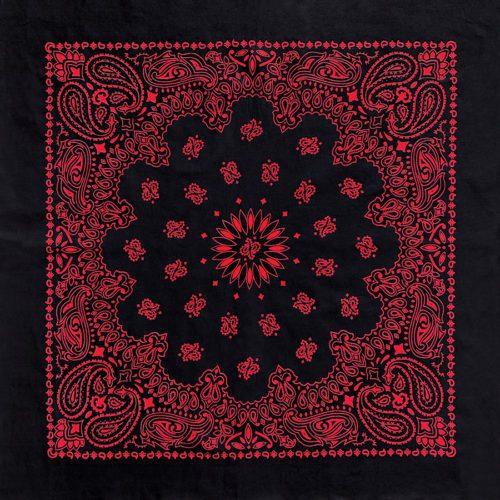 B27PAI-100037 Austin Paisley Black-Red