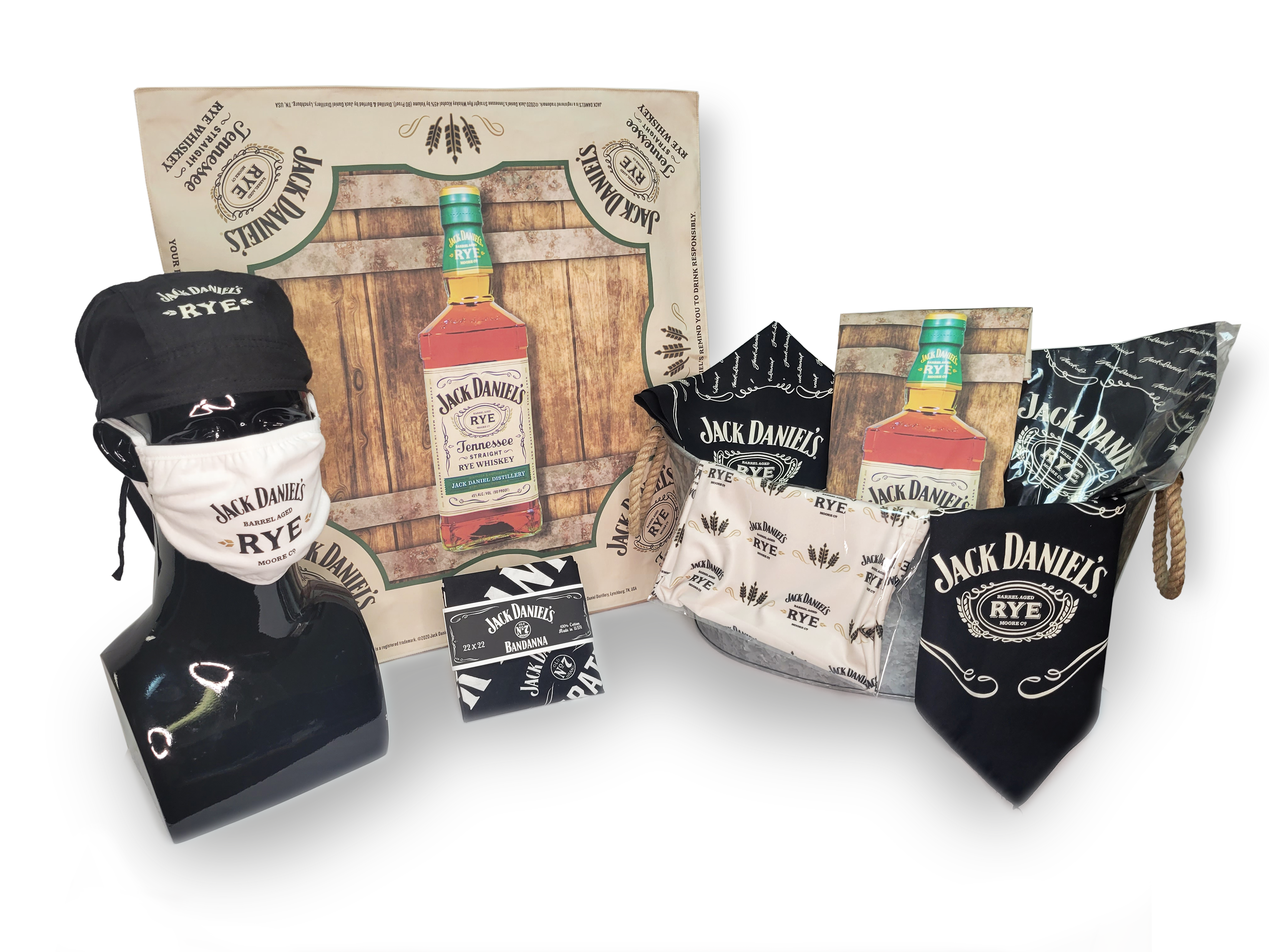 SWAG KIT JACK DANIELS PRODUCTS